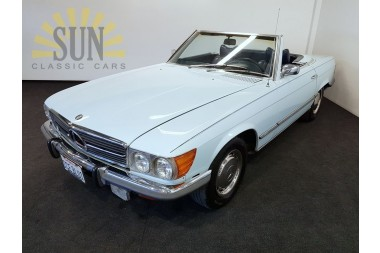 Mercedes Benz 450SL Ice Blue 1973